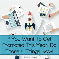 how to get promoted in 2015 lea mcleod job confidence how to get promoted