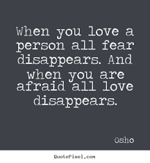 Scared Quotes About Love. QuotesGram via Relatably.com