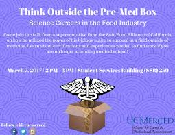 uc merced career on twitter think outside the pre med box 9 24 am 6 mar 2017