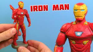 ЖЕЛЕЗНЫЙ ЧЕЛОВЕК - Лепим из пластилина | Iron Man - YouTube