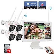 <b>Tonton</b> All-in-One Full <b>HD 1080P</b> Security Camera <b>Wifi</b> System, 8CH ...