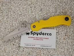 <b>Нож складной</b> SPYDERCO <b>SAVER SALT</b> C118SYL - купить по ...