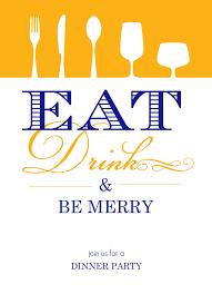 Dinner Invitations & Custom Dinner Party Invitations by PurpleTrail