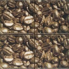 <b>Absolut</b> Keramika <b>Декор керамический</b> Set Coffee Beans 01 (4pzs ...