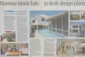 Narrow Block Fails to Limit Design Plans   Bellissimo Homes    Narrow Block Fails to Limit Design Plans