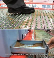shoes floor mat