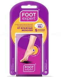 <b>FOOT EXPERT Гидроколлоидный пластырь</b> от влаж мозолей 4 ...