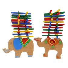 2019 <b>Baby Toys Educational</b> Elephant/<b>Camel</b> Balancing Blocks ...