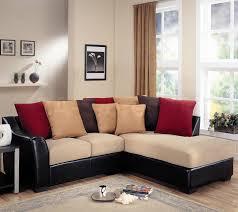 wonderful beige wood glass modern design furniture living room white black comfortable leather l shape sofa apartment affordable apartment furniture