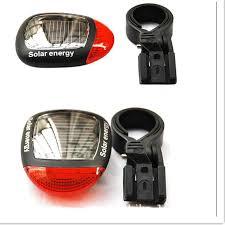 Bicycle Front Head Light + Rear Flashlight Waterproof <b>5 Led Bike</b> ...