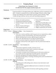 resume help server experience   help writing argumentative essayssample bartender resume examples