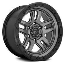 Alloy <b>wheel</b> D701 Ammo Matte Gunmetal/Black Ring Fuel | Jeep  JL ...