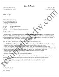 sample documents at resumeladyfw comsample medical assistant cover letter