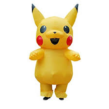 ANOTHERME Inflatable Pikachu Fancy Dress Unisex ... - Amazon.com
