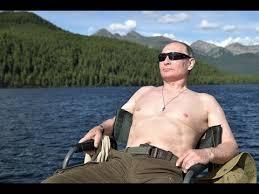 EXCLUSIVE: <b>Real Man</b> Putin Goes <b>Fishing</b> on Siberian Summer ...