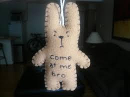 Funny <b>Christmas ornaments</b> come at me bro <b>funny bunny</b> or | Etsy