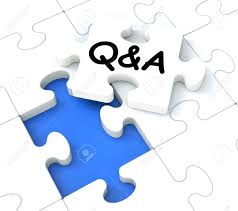 q a puzzle shows frequently asked questions and answers stock q a puzzle shows frequently asked questions and answers stock photo 16517820