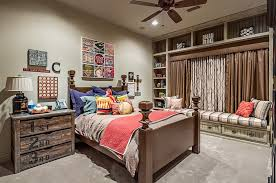 enchanting desk bedroom ideas interesting classic bed gorgeous brown curtain interesting bedside tab