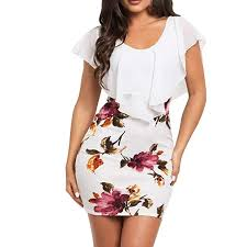 <b>Sexy 2019</b> New Dress for <b>Women</b> Liusdh Sleeveless Floral Printed ...