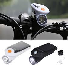 <b>Bikes Headlight Taillight</b> High Brightness Waterproof Solar Powered ...