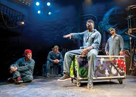 theater review othello the remix chicago shakespeare in chicago jackson doran cassio gq iago and jq loco vito