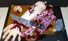 نتیجه تصویری برای کیک های تولد وحشتناک