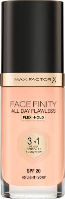 "Max Factor <b>Тональная основа</b> 3в1, SPF 20 ""<b>Facefinity All</b> Day ..."