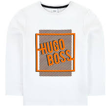 <b>BOSS</b> - <b>Футболка</b> Logo <b>T</b>-<b>shirt</b> Top White - ru.babyshop.com