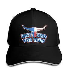 <b>Baseball cap</b> Dont Mess With Texas Longhorn Country Bull Texan ...