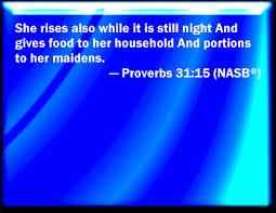 Image result for PROV 31:15