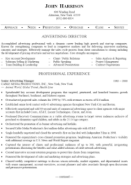 advertising executive resumes   riixa do you eat the resume last best sample executive resumes write company profile