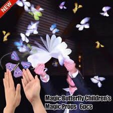 <b>6pcs</b> Flying <b>Butterfly</b> Wind Up <b>Magic</b> Toy Trick Prop Funny Kids Gift ...