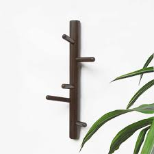 <b>Wall</b> Hanging Clothes Rack <b>Solid Wood</b> Hanging Clothes Rack ...