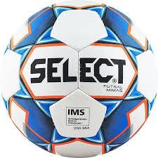 <b>Мяч футзальный Select Futsal</b> Mimas IMS арт.852608-003 р.4 бел ...