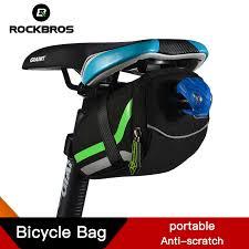 ROCKBROS <b>Bicycle Bag Cycling</b> Riding <b>Seat</b> Post <b>Rear</b> Panniers ...