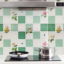 <b>Kitchen Anti Greasy Wall</b> Sticker High Temperature Resistance Tile ...
