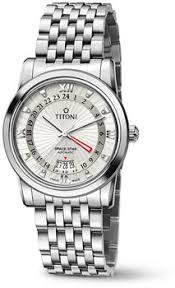 Наручные <b>часы Titoni</b> Space Star <b>94738</b>-<b>S</b>-<b>377</b> | <b>Часы Titoni</b> ...
