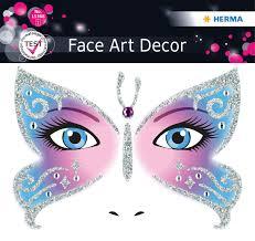 """<b>Наклейки</b> на <b>лицо Face</b> Art """"Butterfly"""" — купить в интернет ..."""