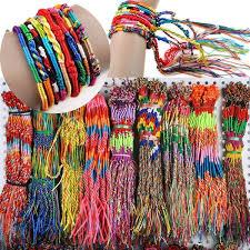 New! 20Pcs Wholesale Neon Friendship <b>Bracelets</b>, Wrap <b>Rainbow</b> ...