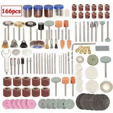 """<b>166Pcs 1/8</b>"""" <b>Rotary</b> Tool <b>Polishing</b> Wheel Drill Accessory Set For ..."""