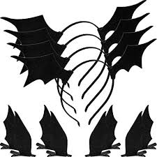 <b>12 Pieces Halloween Bat</b> Headbands Bat Wing Hair Clips Bat Head ...