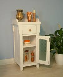 white storage unit wicker: bathroom freestanding cabinet free standing bathroom storage