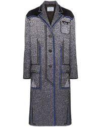 Длинные пальто Prada Для нее - Lyst
