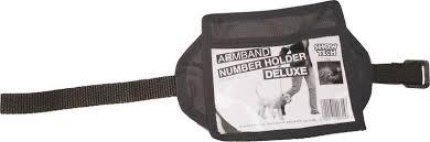 <b>Повязка нарукавная Show</b> Tech Armband Number Holder Deluxe ...