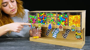Smart Girl Shows How to Build <b>Candy</b> Dispenser - YouTube