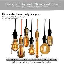 <b>Hot</b> Promo #230b - KARWEN Edison Bulb E27 <b>220v</b> Incandescent ...
