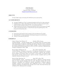 asst manager resume cipanewsletter assistant manager duties resume template