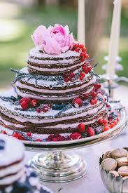 flowers wedding decor bridal musings blog: naked wedding cake lovewed george pahountis bridal musings wedding blog