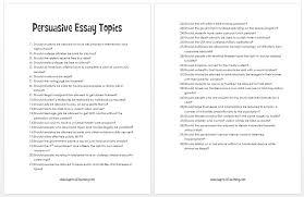 College Essay Topics   The College       metricer com FAMU Online