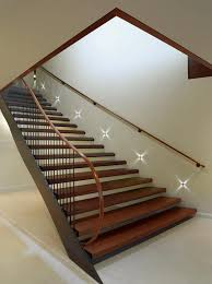basement stairs lighting built in night lights to go down or up stairs when it basement stairwell lighting